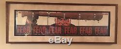 Walking Dead Neegan Art Numéro Unique 97-102 Encadré
