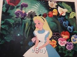 Walt Disney Wdcc Alice Au Pays Des Merveilles 1950 Un Signe D'une Piece Nature Que Ce Soit, Excond
