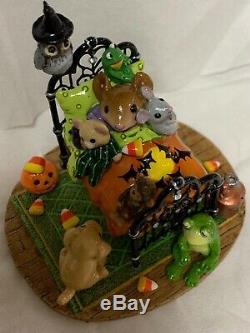 Wee Forêt Folk Spécial Halloween Oak L'un Des A Creature Comforts Kind So Cute