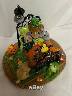 Wee Forêt Folk Spécial Halloween Oak Un D'une Créature Kind Comforts So Cute