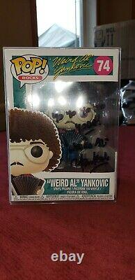 Weird Al Yankovic Yo Yo Yoda Signé Funko Pop One Of A Kind! Autographe Jsa Coa