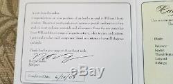 William Henry Knife B05 Trimestriel De Collectionneur Unique En Son Genre # 060905