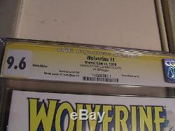 Wolverine # 1 Cgc Ss 9.6 Argile Mann X-23 Art Original Unique En Son Genre 1-1