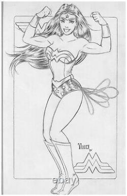 Wonder Woman Original Art De Billy Tucci (2015) Un Des Genres DC Justice League